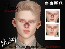[FLAWS] SkinAddons - MICKEY BROKEN NOSE (WEAR ME)