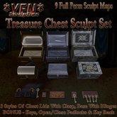 *YEN* Treasure Chest Sculpt Set