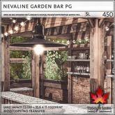 Trompe Loeil - Nevaline Garden Bar PG [mesh]