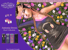 No Cabide :: Antonia Dress - HUD 4 Models