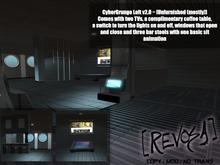 REVOSA CyberGrunge Loft v2.0 [Unfurnished]