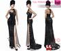Full Perm Strapless Prom Dress Slink, Voluptuous, Maitreya, Belleza, And Classic