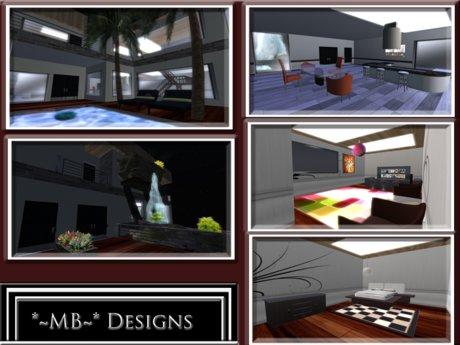 Second Life Marketplace Fantasy Mansion Furnished