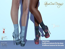 Jwow Shoes and Socks with Hud, Box