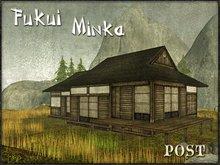 POST / Fukui Minka - Japanese House