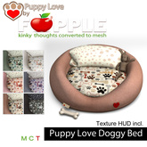 *Fapple- Puppy Love Mesh Dog Bed- animated and non animated