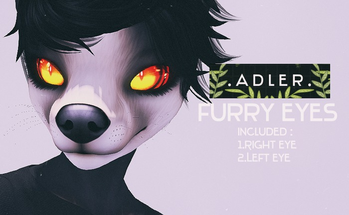 A D L E R -  Prim Furry Eyes