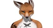 JOMO Male Fox Prison v2 Tattoo