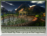 Mesh Dream Garden Pond Scene 84 Prim=32x32m Size copy-mody