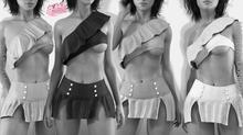 Marie EXCLUSIVE Female Top Mesh- MAITREYA LARA - DEMO VERSION CB collection
