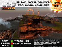 """Island """"Your oblivion"""" for 64x64 land size or skybox"""