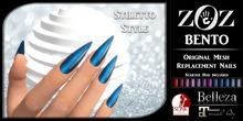 {ZOZ} BENTO Stiletto Nails (wear)