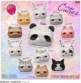 RazzBerry Inc. Cushion Cuties (Piggy-Brown)