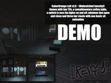 [REVOSA] CyberGrunge Loft v2.0 Demo