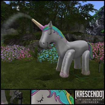 [Kres] Unicorn Water Sprinkler