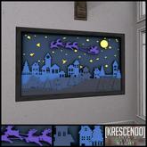 [Kres] Santa's Ride Frame - Night