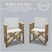 {what next} Southsea Deck Chair
