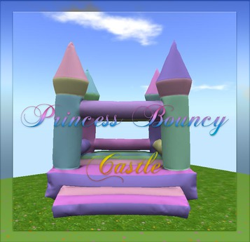 //Whimsical// Princess  Bouncy Castle