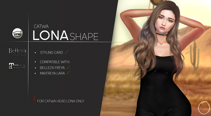 Catwa Head Lona Shape 1.0