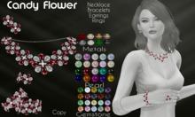 Moondance Jewels Candy Flower Jewelry Set