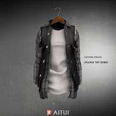 AITUI - Judd Jacket - Blackout