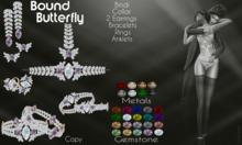 Moondance Jewels Butterfly Jewelry Set