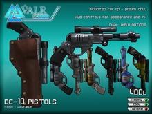 [VALR] DE-10 Pistols