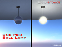 Anna Erotica - ONE Prim Ball Lamp! (box)