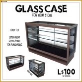-RC- Glass Display Case
