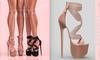 [BREATHE]-Akio Heels-Hazelnut-(for Slink High Feet & Maitreya Lara & Belleza)
