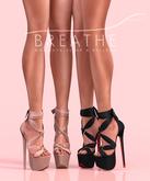 [BREATHE]-Akio Heels-Pack One-(for Slink High Feet & Maitreya Lara & Belleza)