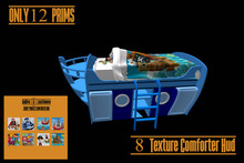 ZOOBY LEGACY PIRATES BED W HUD BOXED