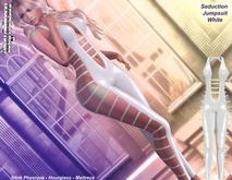 [Sexy Princess] White Seduction Jumpsuit - Maitreya , Slink Physique, Hourglass
