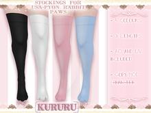 [KRR] Stockings for Usa-pyon rabbit paws
