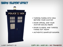 [S2S] TARDIS Teleport Effect