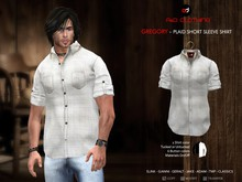 A&D Clothing - Shirt -Gregory- Ivory