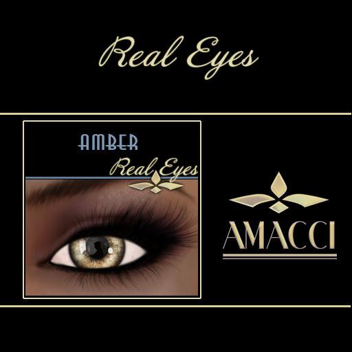 Amacci Real Eyes ~ Amber