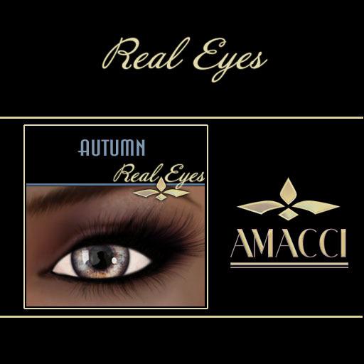 Amacci Real Eyes ~ Autumn