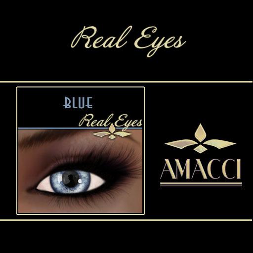 Amacci Real Eyes ~ Blue