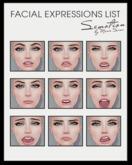 SEmotion Female Bento Facial Bored Expressions HUD
