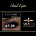 Amacci Real Eyes ~ Blue & Brown