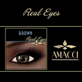 Amacci Real Eyes ~ Brown