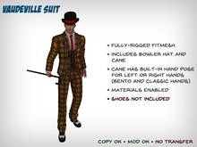 Vintage Vaudeville Suit - Fitmesh