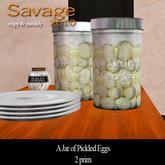 Jar of Pickled Eggs