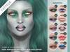 "alaskametro<3 ""Aquatica"" makeup palette - FATPACK - CATWA, LELUTKA, OMEGA applier HUD + Classic avatar layers"
