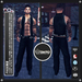 [RnR] Swag Phoenix Mens Biker Outfit for Signature Gianni, Slink, Aesthetic, Classic!  [NEW RELEASE]