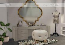 Di'Cor Lionel Vanity Set [White]
