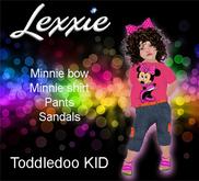 Lexxie Toddledoo Kid Minnie UNIHISPANA VENDOR a