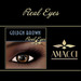 Amacci Real Eyes ~ Golden Brown