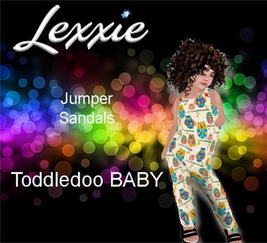 Lexxie ToddleeDoo Baby Jumper Owls FREE